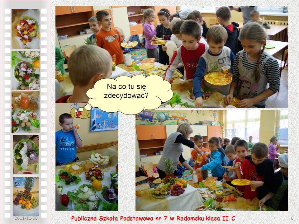 2011-11-086 Publiczna Szkoła Podstawowa nr 7 w Radomsku klasa II C Na co tu się zdecydować?