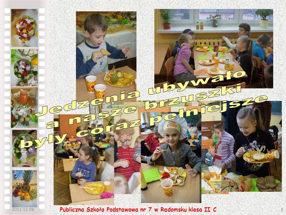 Po 1 godzinie 2011-11-089 Publiczna Szkoła Podstawowa nr 7 w Radomsku klasa II C Gdzie to wszystko znikło.