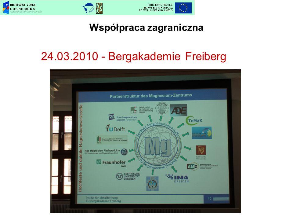 Współpraca zagraniczna 24.03.2010 - Bergakademie Freiberg