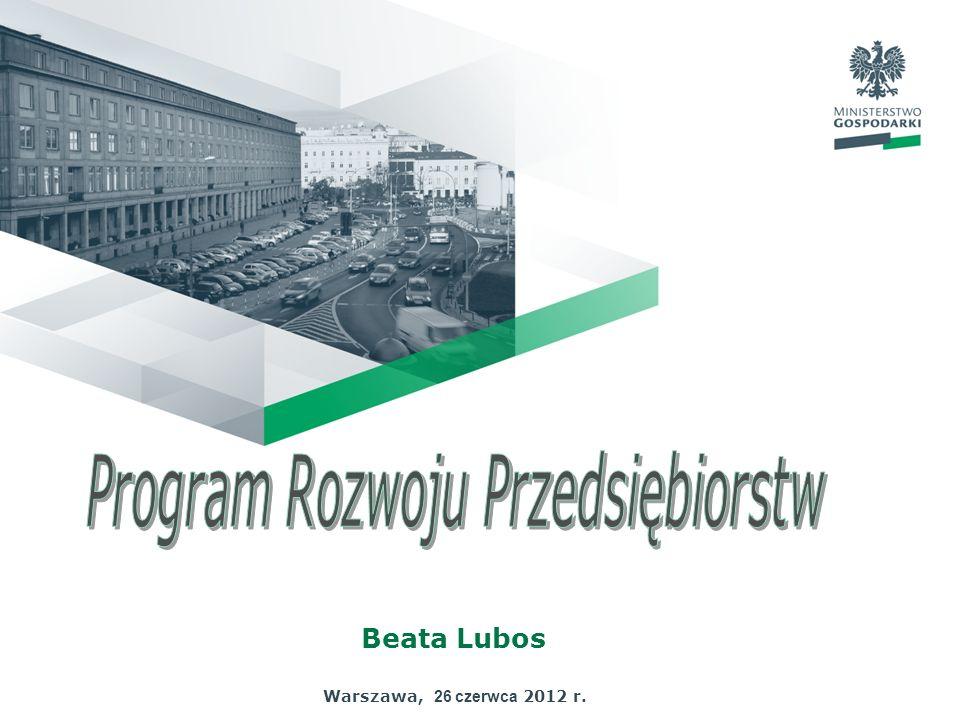 Beata Lubos Warszawa, 26 czerwca 2012 r.