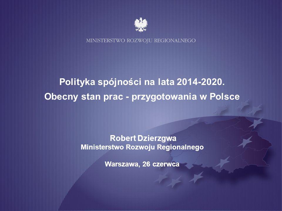 2 Programowanie polityki spójności 2014-2020 w Polsce
