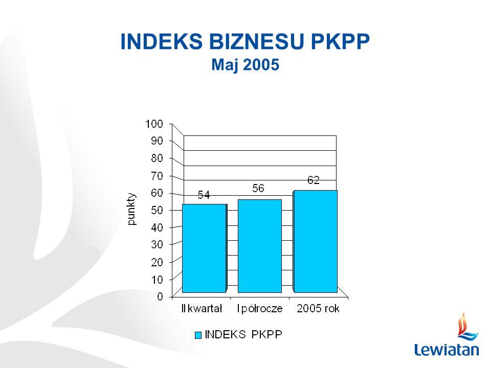 INDEKS BIZNESU PKPP Maj 2005