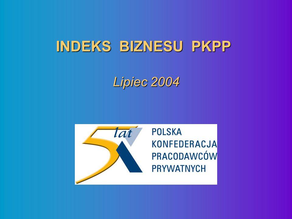 INDEKS BIZNESU PKPP Czerwiec 04 – Lipiec 04