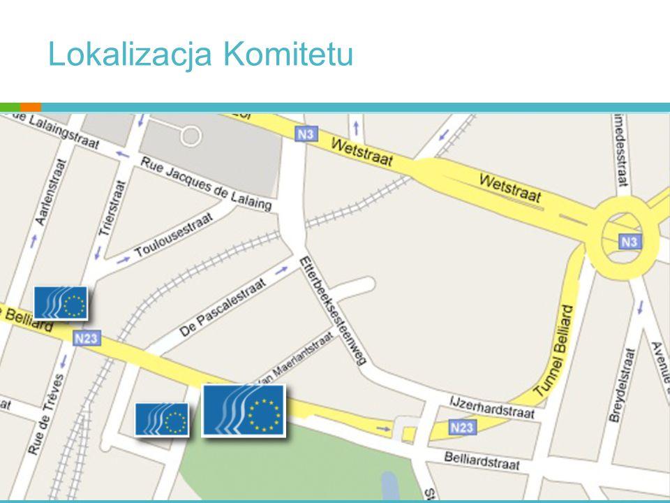 Miejsce EKES-u w systemie instytucjonalnym UE KOMISJA EUROPEJSKA RADA UE