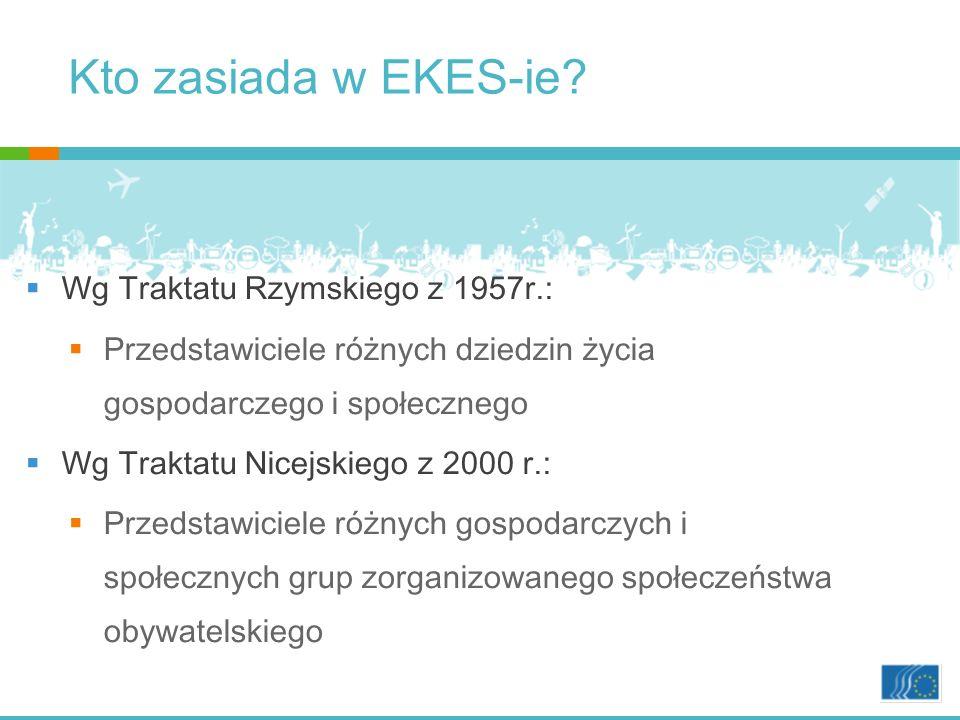 Kto zasiada w EKES-ie.