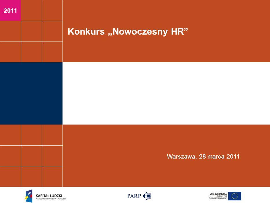 2011 Konkurs Nowoczesny HR Warszawa, 28 marca 2011