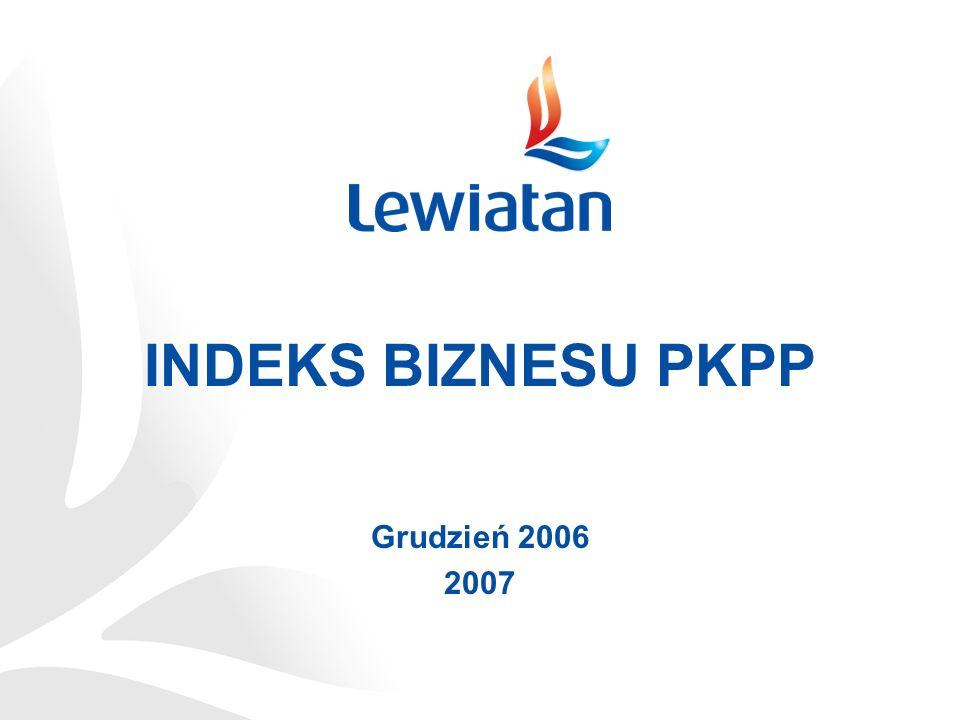 INDEKS BIZNESU PKPP Grudzień 2006 2007