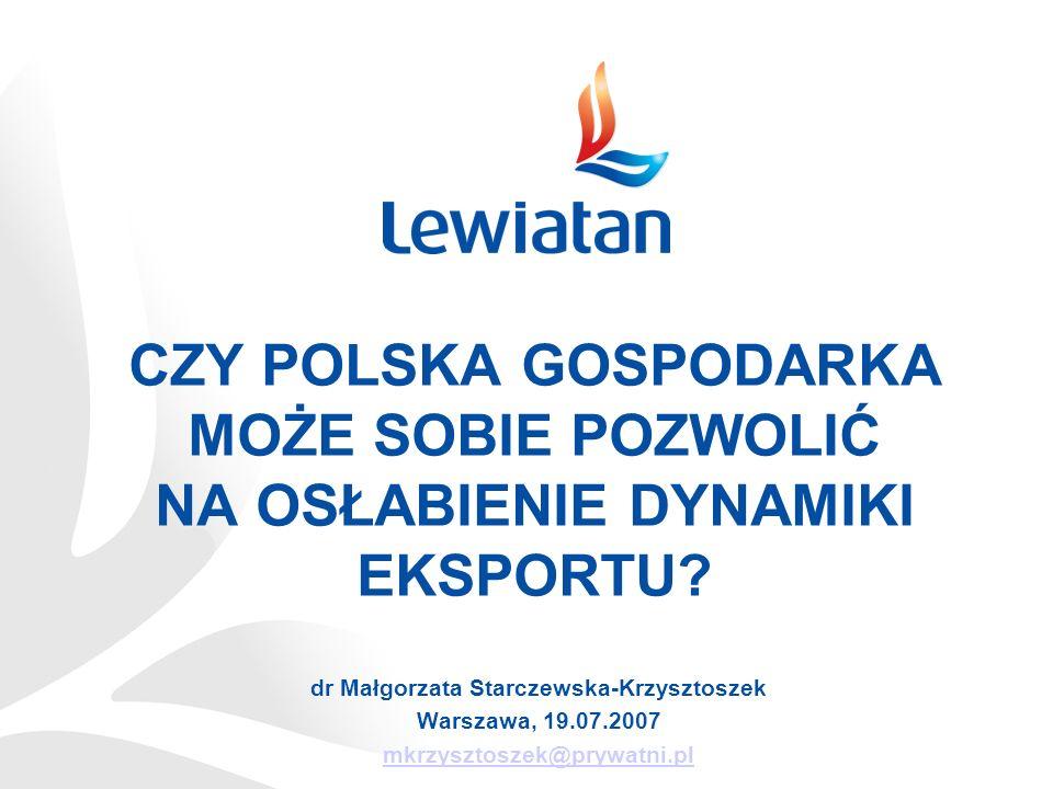 Źródło: Eurostat, opracowanie PKPP Lewiatan Bez komentarza …