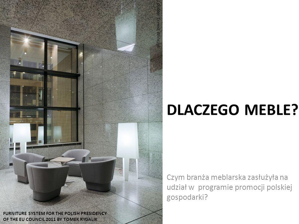DLACZEGO MEBLE. Czym branża meblarska zasłużyła na udział w programie promocji polskiej gospodarki.