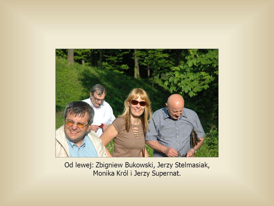 Od lewej: Zbigniew Bukowski, Jerzy Stelmasiak, Monika Król i Jerzy Supernat.