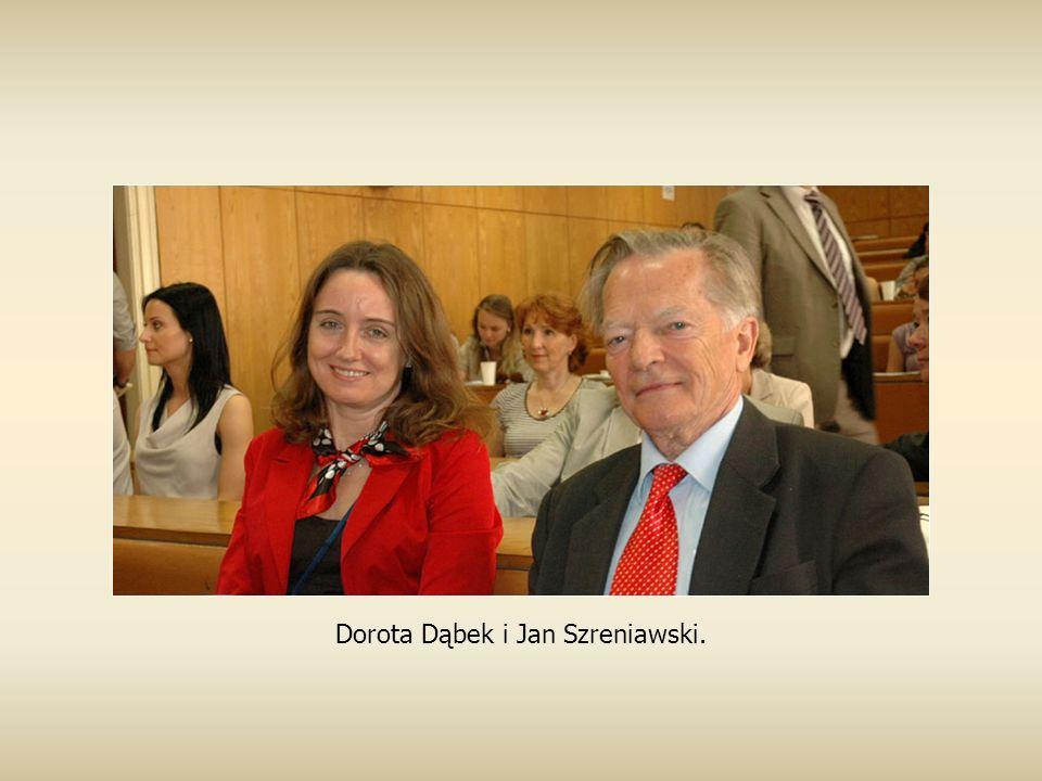 Dorota Dąbek i Jan Szreniawski.