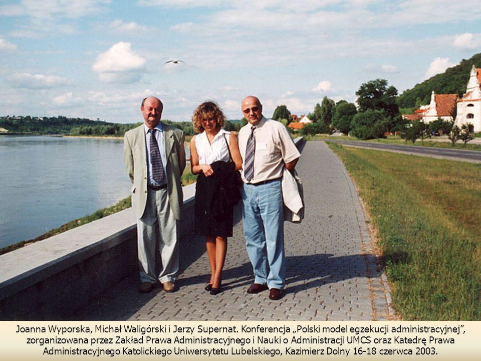 Joanna Wyporska, Michał Waligórski i Jerzy Supernat.