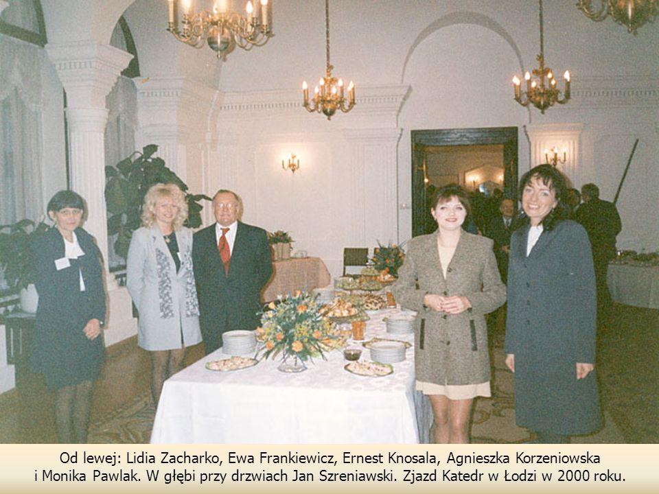 Od lewej: Lidia Zacharko, Ewa Frankiewicz, Ernest Knosala, Agnieszka Korzeniowska i Monika Pawlak.