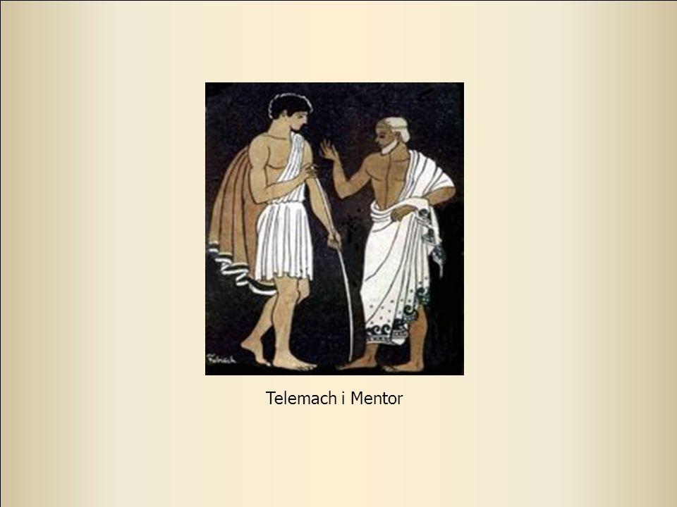 23 Przeżywające swój renesans słowo mentor pochodzi z mitologii greckiej. Kiedy Odyseusz opuszczał Itakę, powierzył swojego syna Telemacha mieszkające