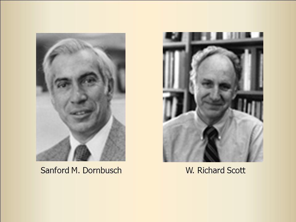 Sanford M. DornbuschW. Richard Scott