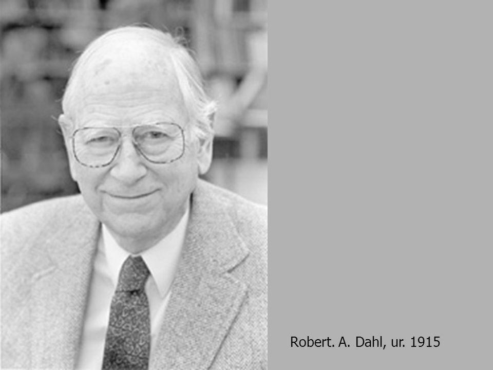 Robert. A. Dahl, ur. 1915