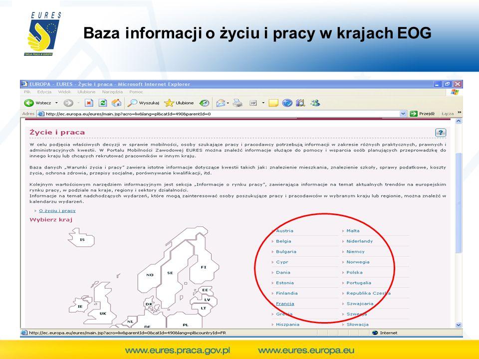 Baza informacji o życiu i pracy w krajach EOG