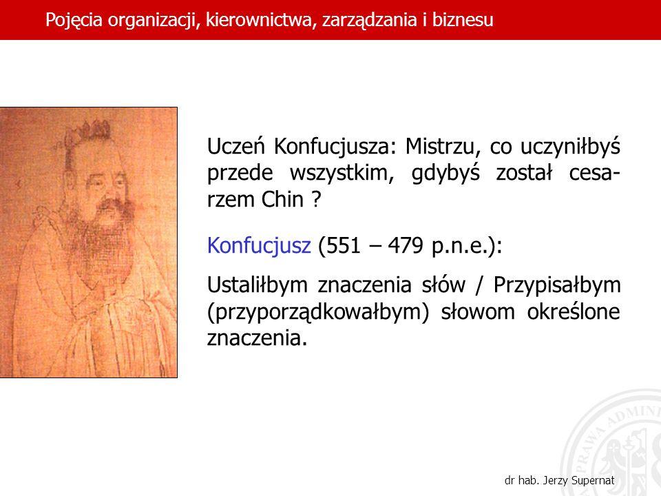 3 Pojęcie organizacji Twórcy polskiej prakseologicznej teorii organizacji Tadeusz Kotarbiński (1886-1981) i Jan Zieleniewski (1901-1973) wyróżnili trzy znaczenia terminu organizacja.