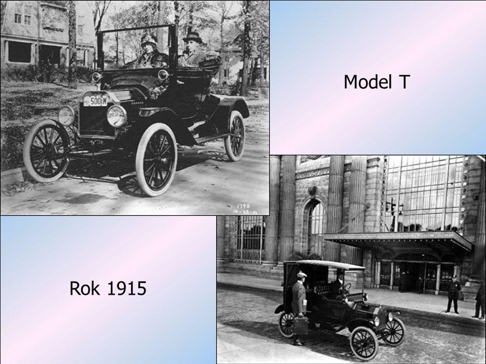 Projektowe uwarunkowania struktury organizacyjnej dr hab. Jerzy Supernat Model T Rok 1915