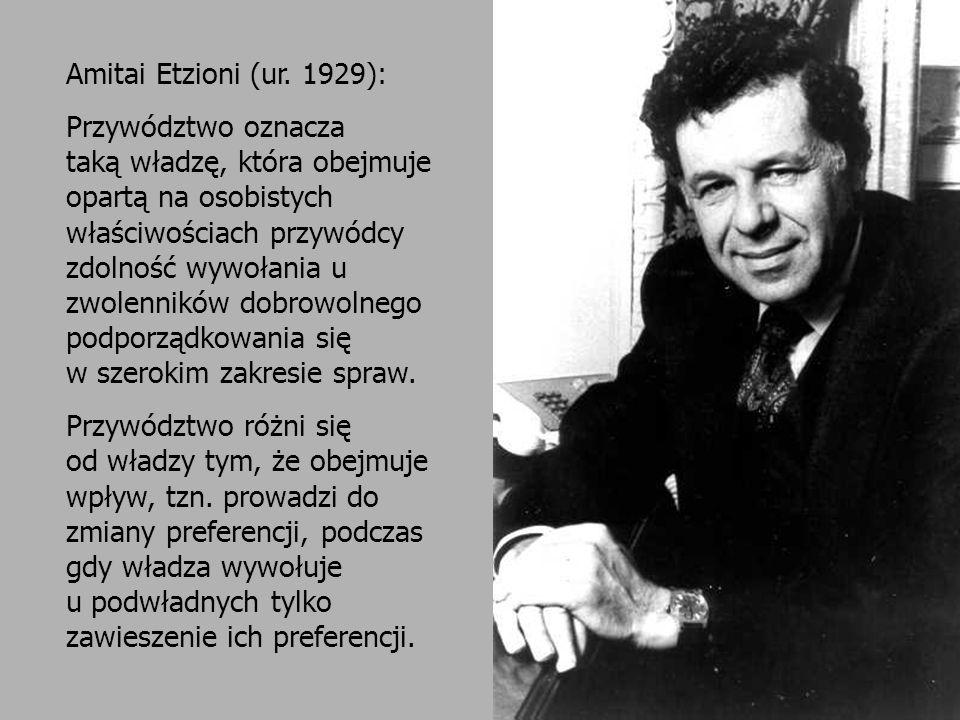 Przywództwo w organizacji dr hab.Jerzy Supernat Daniel Katz (1903-1998) Robert L.