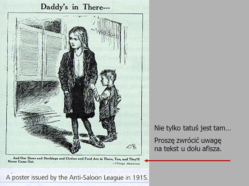 Nie tylko tatuś jest tam… Proszę zwrócić uwagę na tekst u dołu afisza.