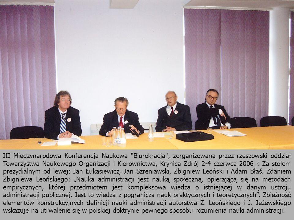 29 III Międzynarodowa Konferencja Naukowa