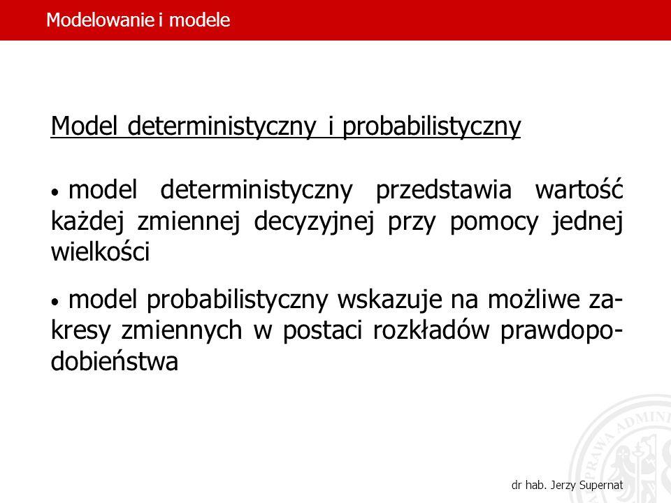 14 Model statyczny i model dynamiczny model statyczny przedstawia rzeczywistość w ja- kiejś konkretnej chwili w oderwaniu od stosunków następstwa czas