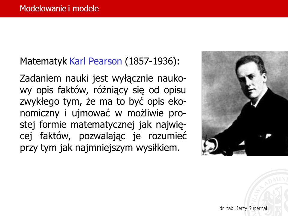 5 Socjolog Piotr Sztompka (ur. 1944): Myślenie naukowe opiera się na ab- strakcji, odchodzeniu od konkretu. Model to układ, który stanowi środek pośre