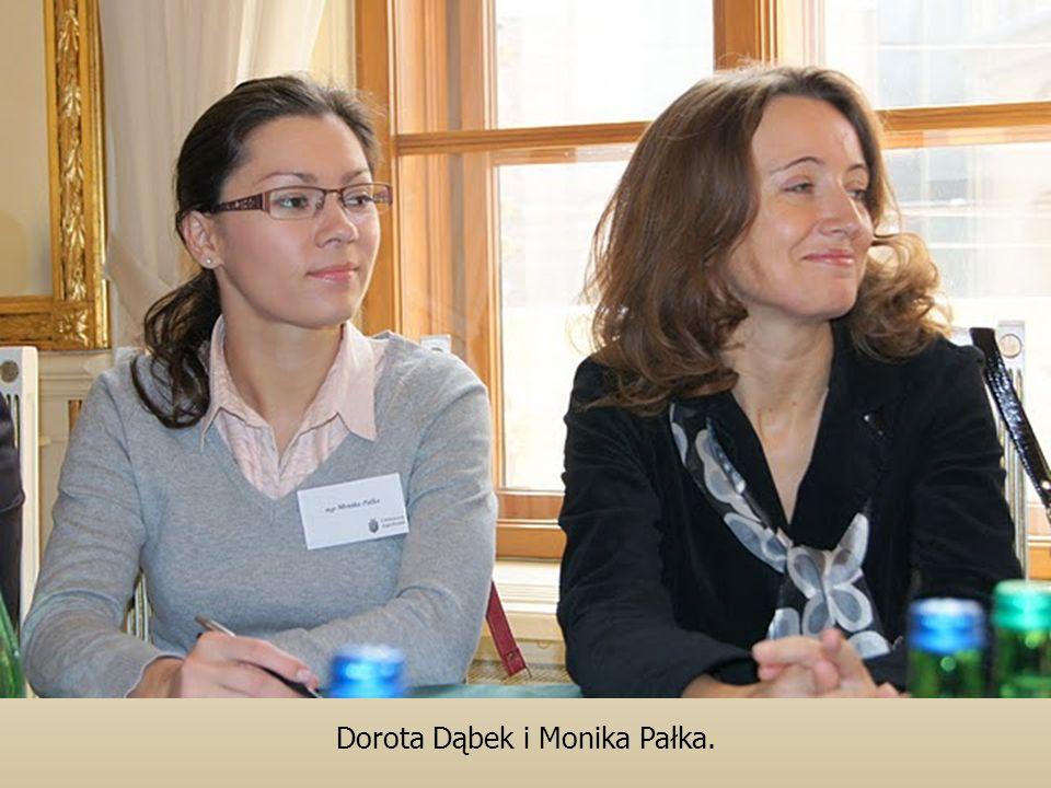 Dorota Dąbek i Monika Pałka.