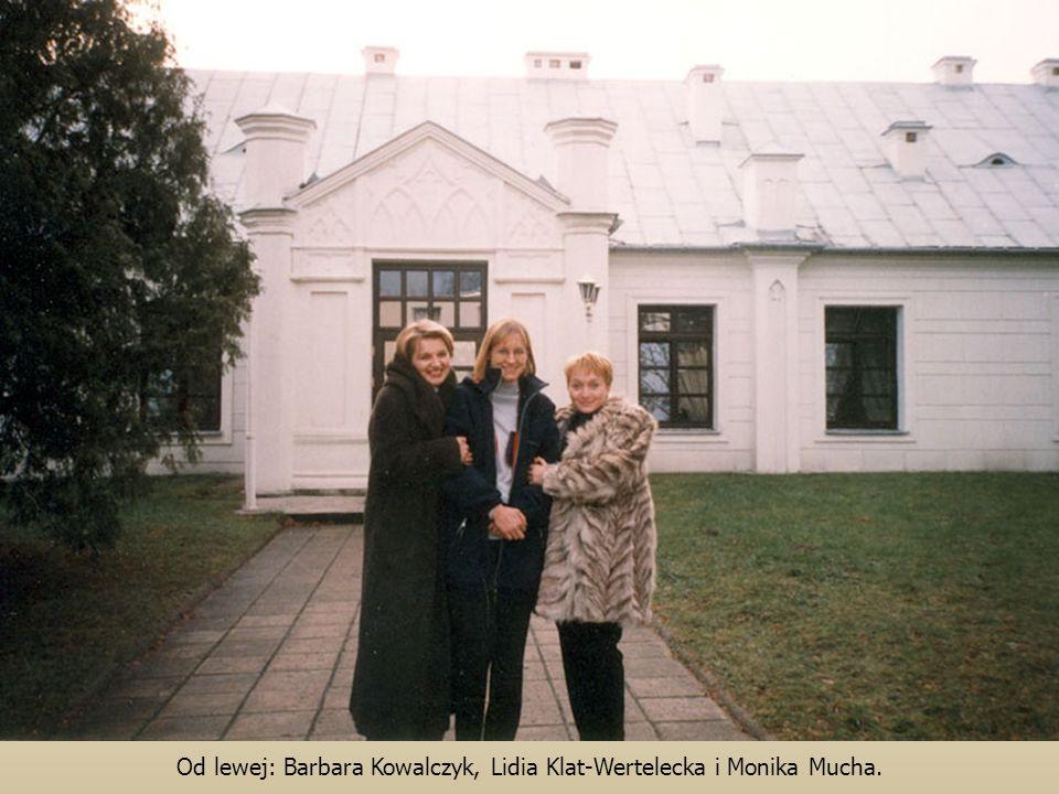 Od lewej: Barbara Kowalczyk, Lidia Klat-Wertelecka i Monika Mucha.