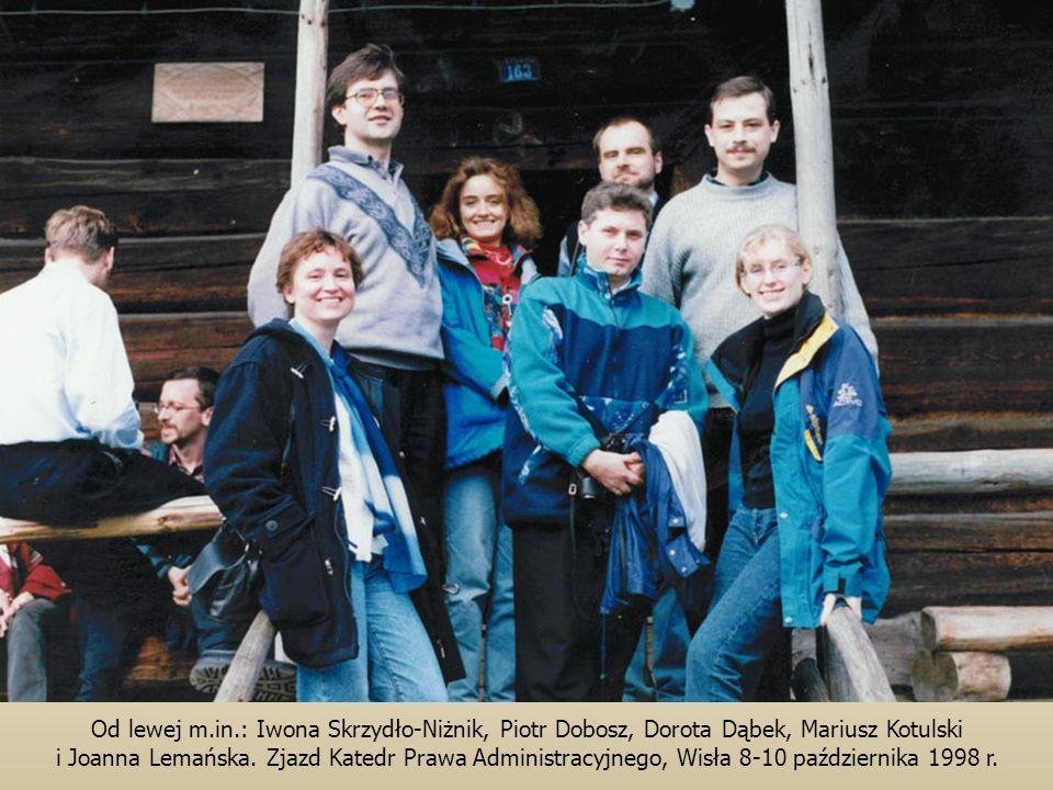 Od lewej m.in.: Iwona Skrzydło-Niżnik, Piotr Dobosz, Dorota Dąbek, Mariusz Kotulski i Joanna Lemańska.