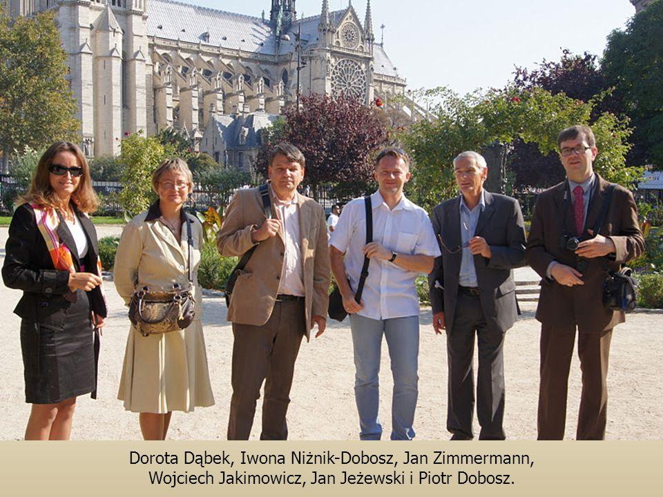 Dorota Dąbek, Iwona Niżnik-Dobosz, Jan Zimmermann, Wojciech Jakimowicz, Jan Jeżewski i Piotr Dobosz.