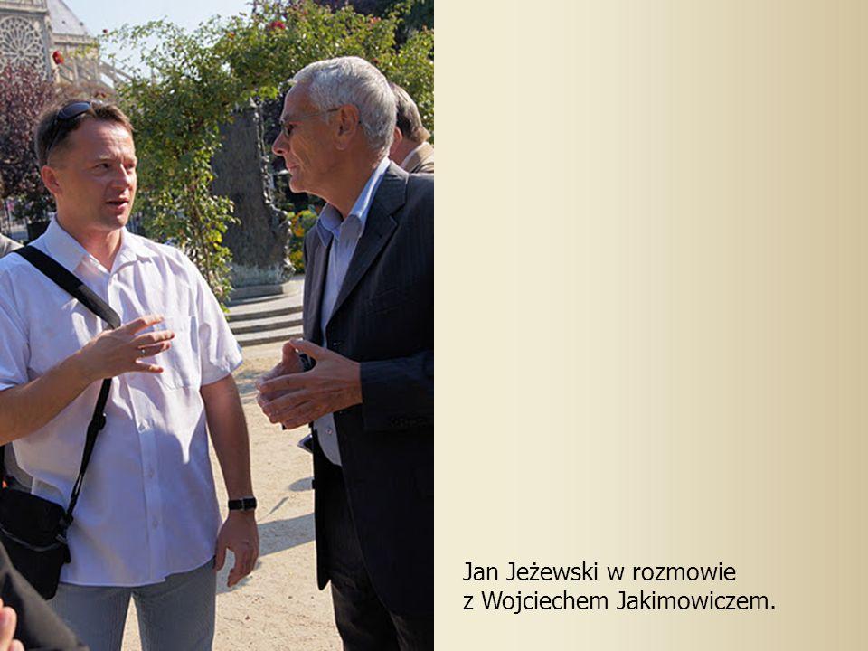 Jan Jeżewski w rozmowie z Wojciechem Jakimowiczem.