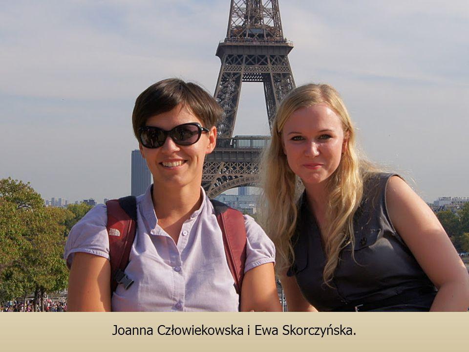 Joanna Człowiekowska i Ewa Skorczyńska.