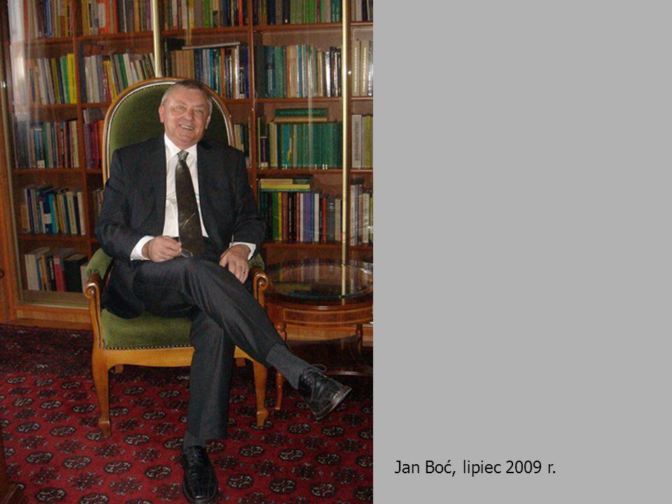 Jan Boć, lipiec 2009 r.
