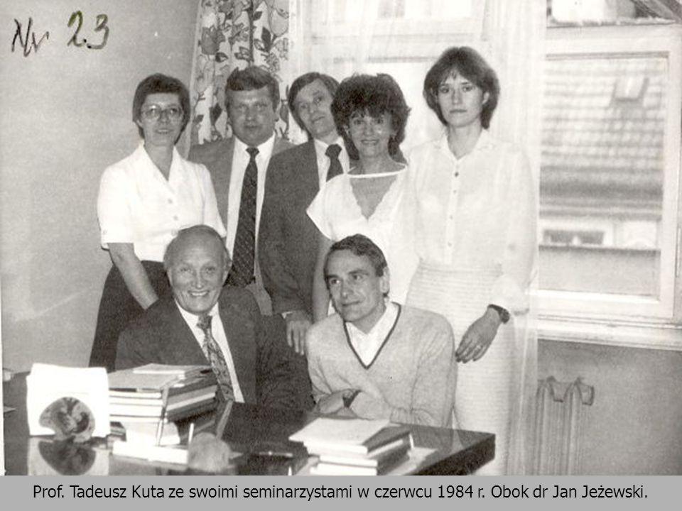 Jan Jendrośka: Instytut [Instytut Nauk Administracyjnych – JS] powstał na podstawie zarządzenia Ministra Oświaty i Szkolnictwa Wyższego z dnia 17 kwietnia 1969 r.