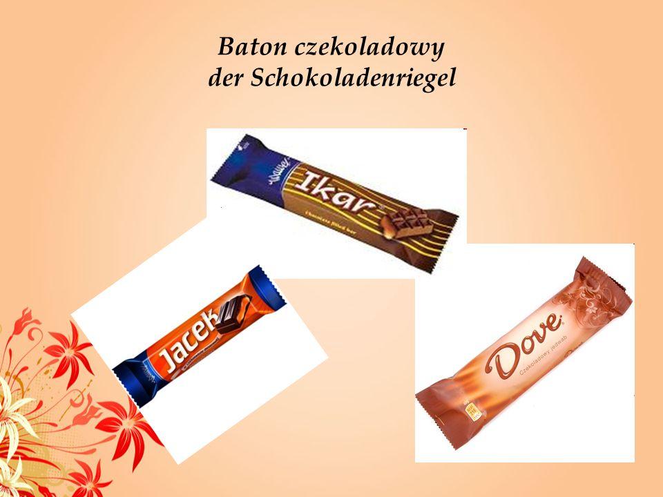 Baton czekoladowy der Schokoladenriegel