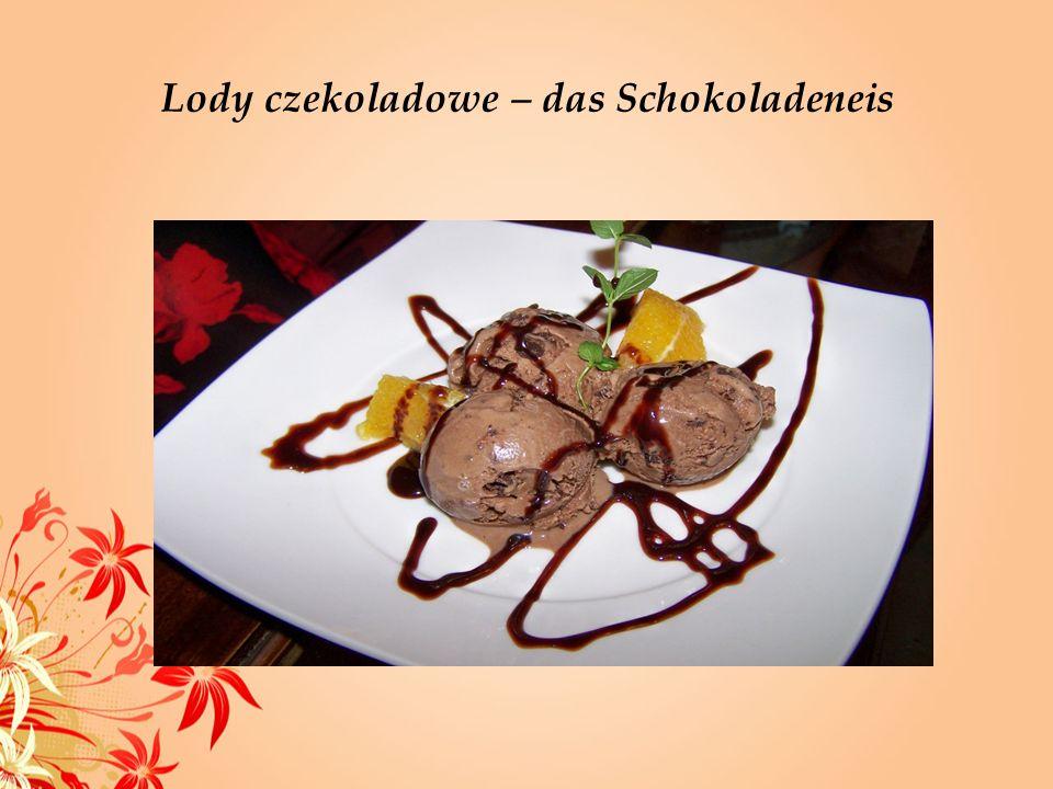 Lody czekoladowe – das Schokoladeneis