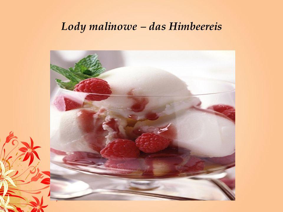 Lody truskawkowe – das Erdbeereis