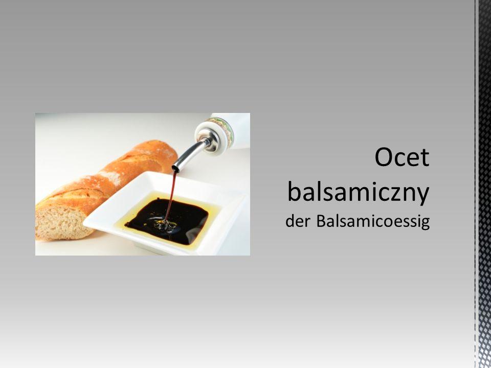 Ocet winny – stosowany jako przyprawa produkt spożywczy, wytwarzany z wina w procesie fermentacji octowej.