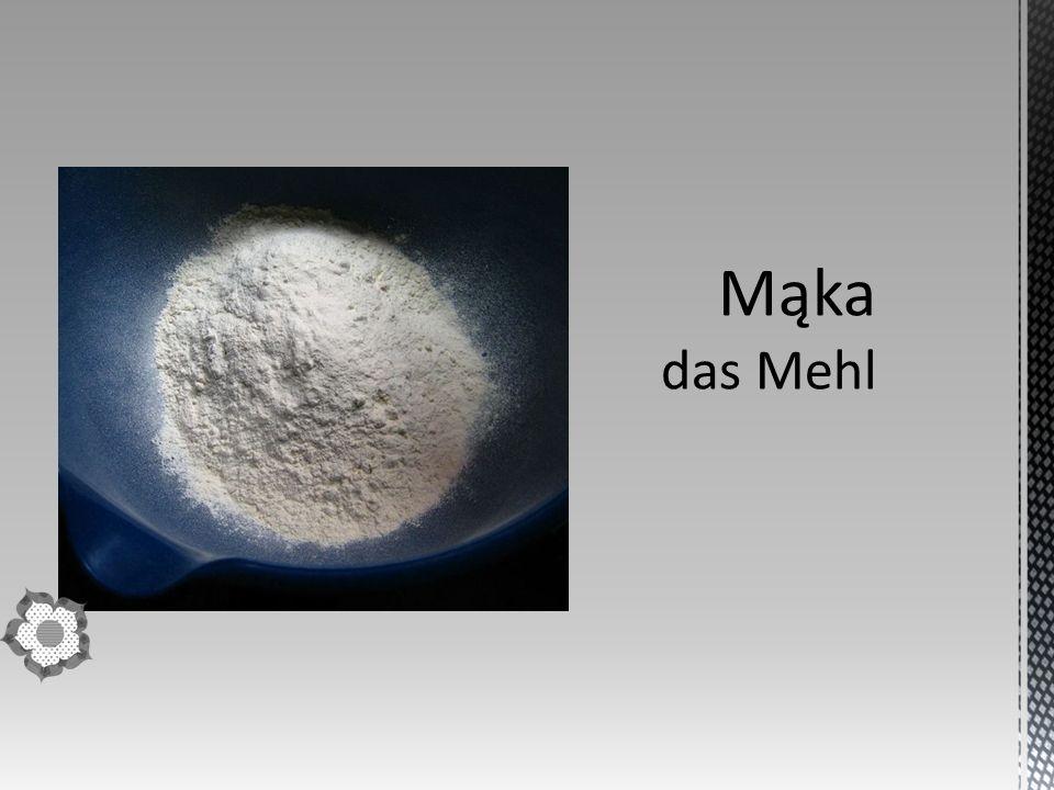 Mąka pszenna – rodzaj mąki otrzymywany z pszenicy.