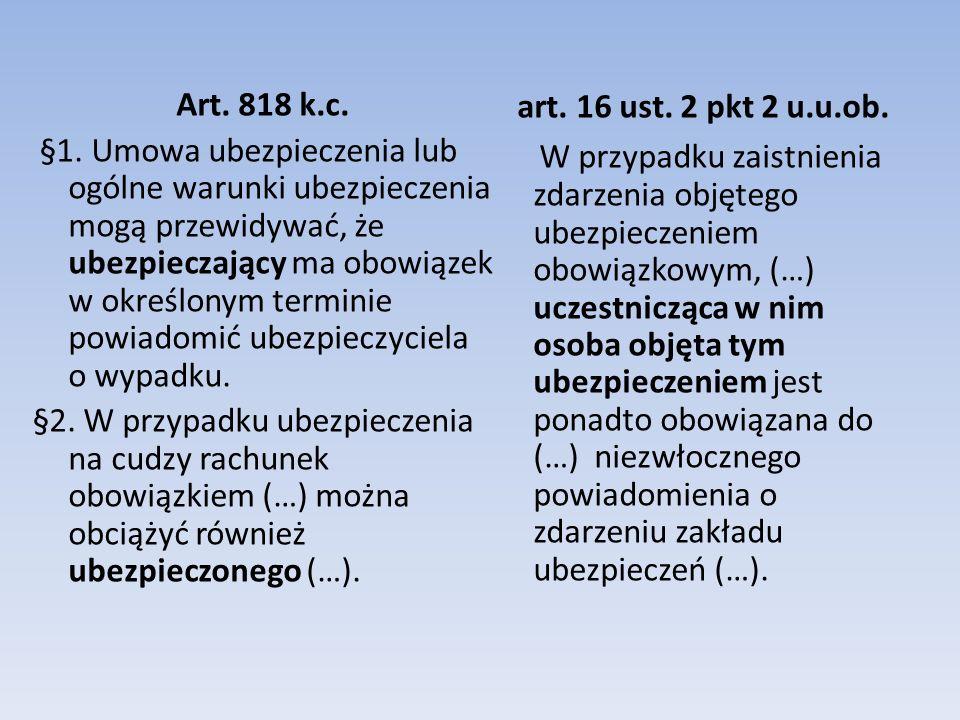 Art.818 k.c. §1.