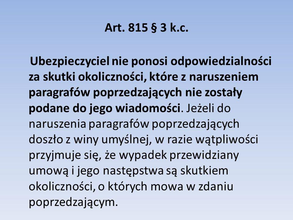 Art.815 § 3 k.c.