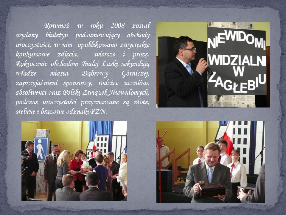 Również w roku 2008 został wydany biuletyn podsumowujący obchody uroczystości, w nim opublikowano zwycięskie konkursowe zdjęcia, wiersze i prozę.
