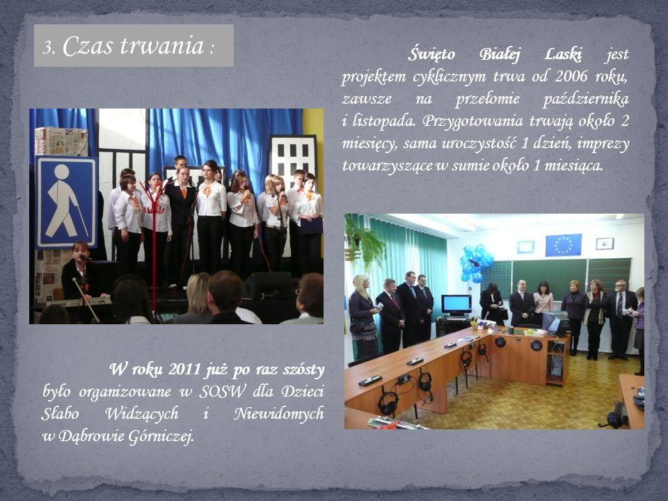 Ważnym efektem działań jest wpisanie się na trwałe w kalendarz uroczystości w Dąbrowie Górniczej.