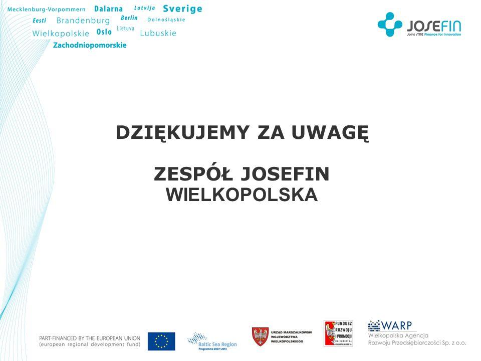 Your Logo DZIĘKUJEMY ZA UWAGĘ ZESPÓŁ JOSEFIN WIELKOPOLSKA