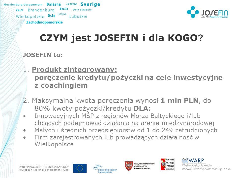 Your Logo CZYM jest JOSEFIN i dla KOGO .JOSEFIN to: 1.