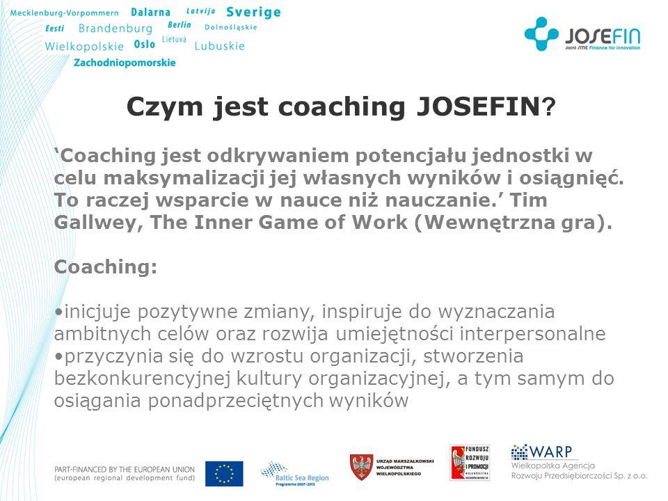 Your Logo Czym jest coaching JOSEFIN .