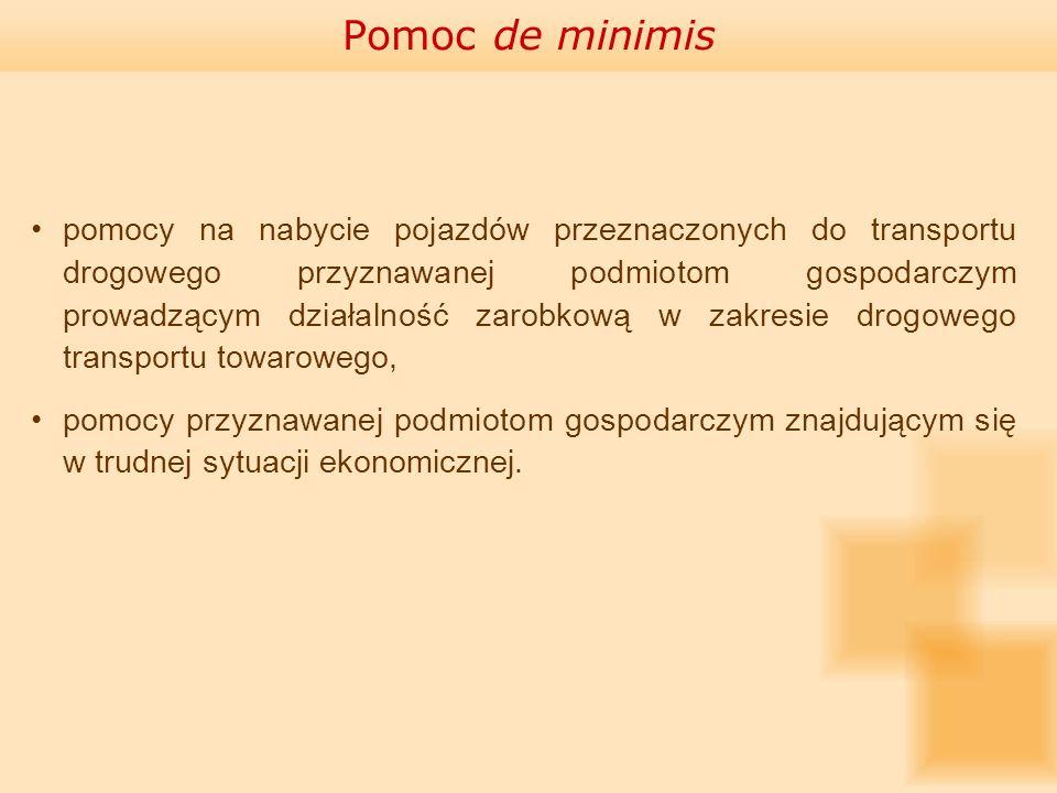 Postępowanie przed Prezesem UOKiK Art.13 ust. 2 ustawy o pomocy publicznej:Art.