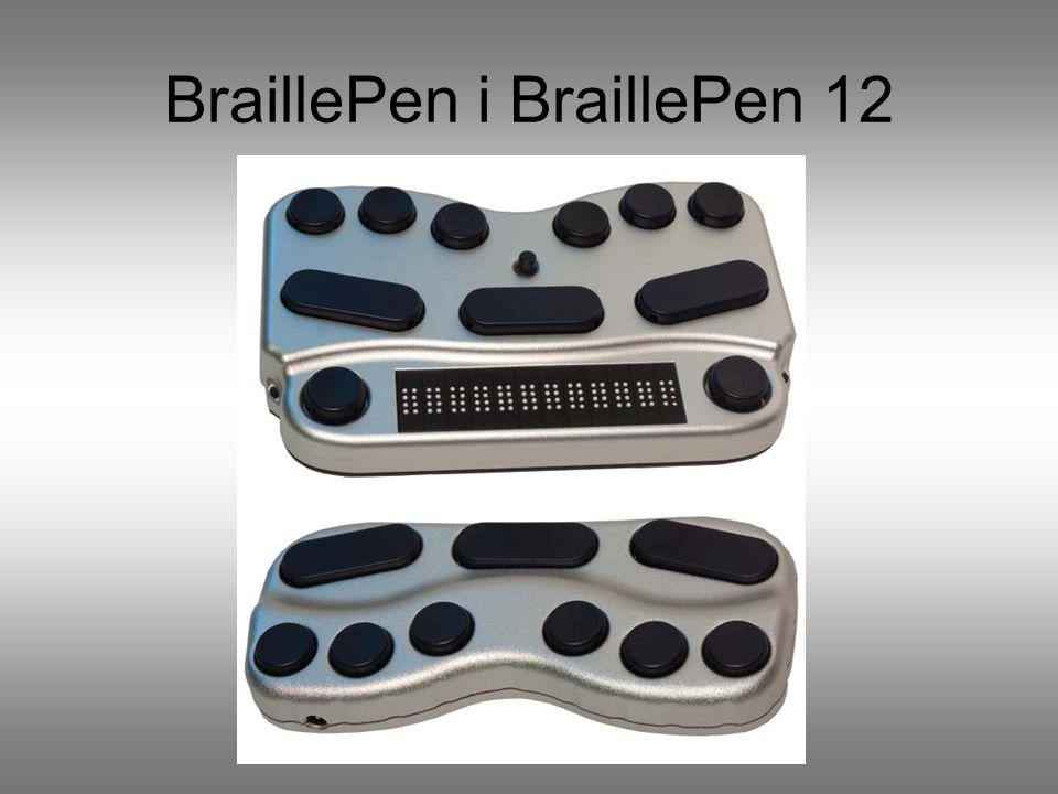 BraillePen Komputer kieszonkowy dla niewidomych